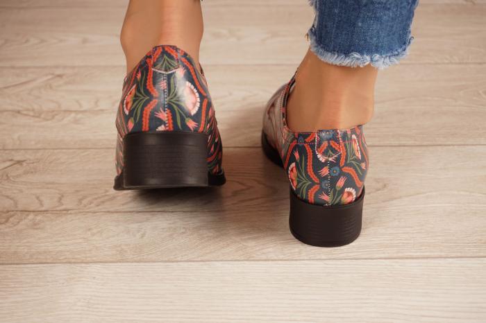 Pantofi dama din piele naturala cu imprimeu MSPD53017-6-20 [4]