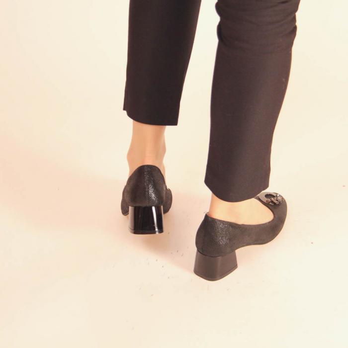 Pantofi dama din piele naturala cu imprimeu MSPD53720-20 [3]