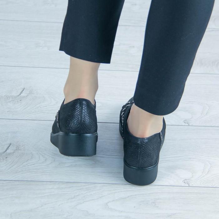 Pantofi dama din piele naturala cu imprimeu MSPD56520-20 [2]