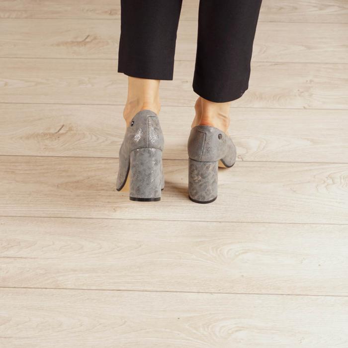 Pantofi dama din piele naturala cu imprimeu MSPD56820-20 [3]