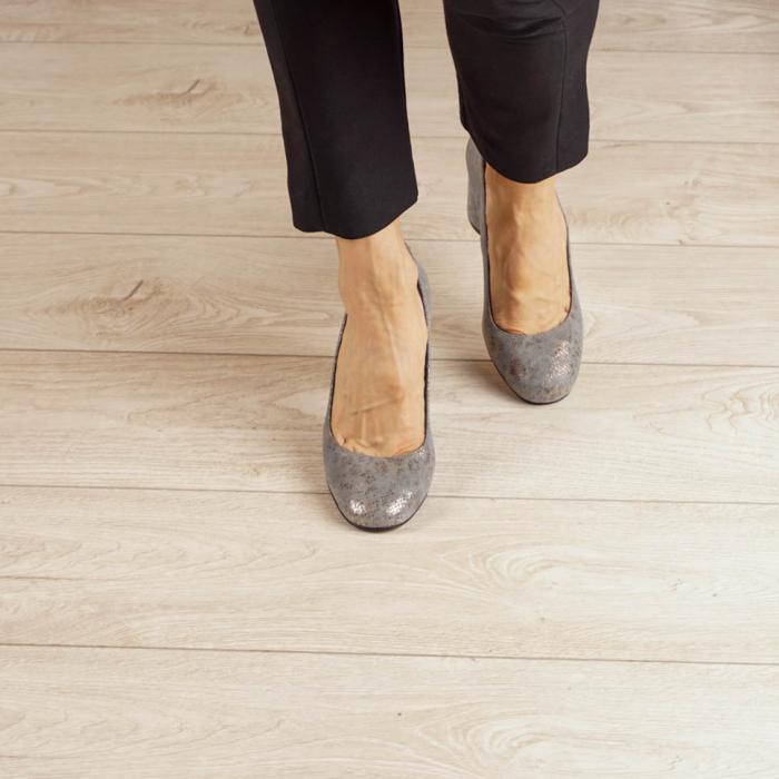 Pantofi dama din piele naturala cu imprimeu MSPD56820-20 [2]