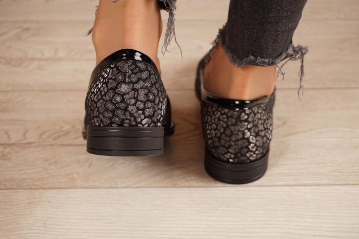 Pantofi dama din piele naturala cu imprimeu MSPD59420-20 [4]