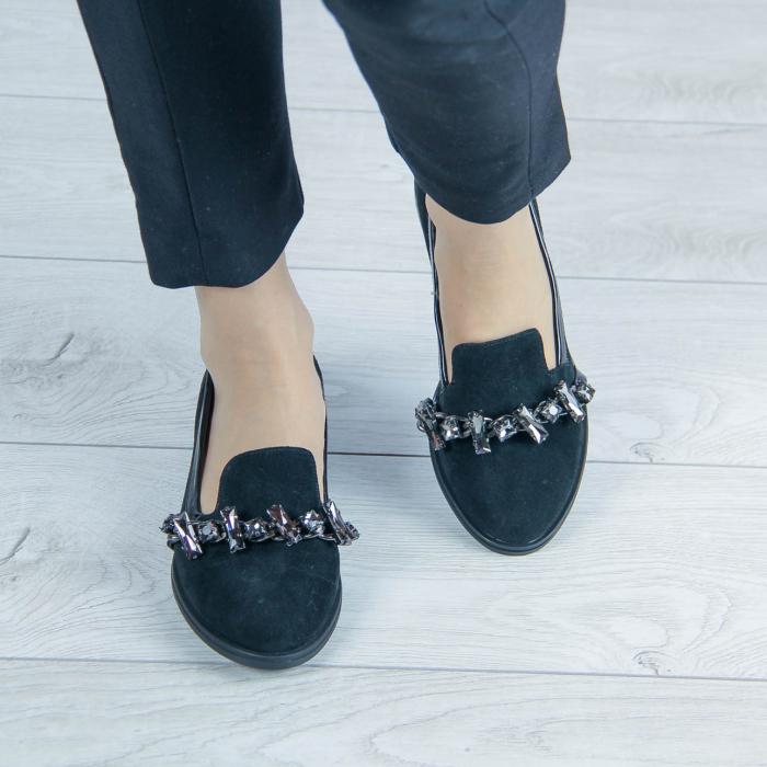 Pantofi dama din piele naturala intoarsa MSPD54920-20 [1]