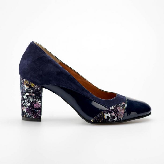 Pantofi dama din piele naturala MSPD56819-19 [0]