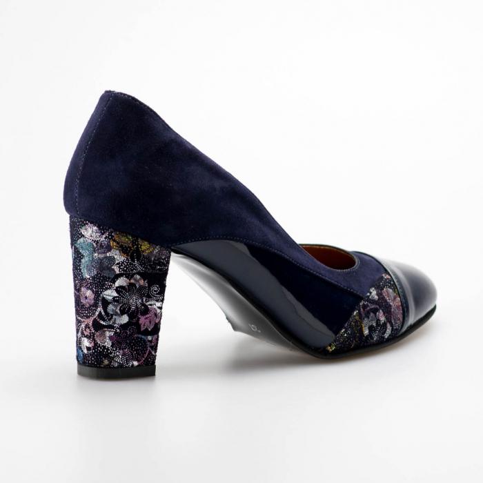 Pantofi dama din piele naturala MSPD56819-19 [1]