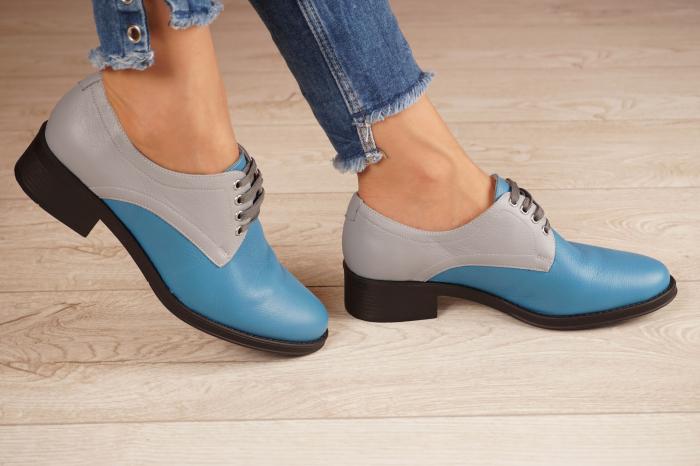 Pantofi dama din piele naturala MSPD53017-11-20 2