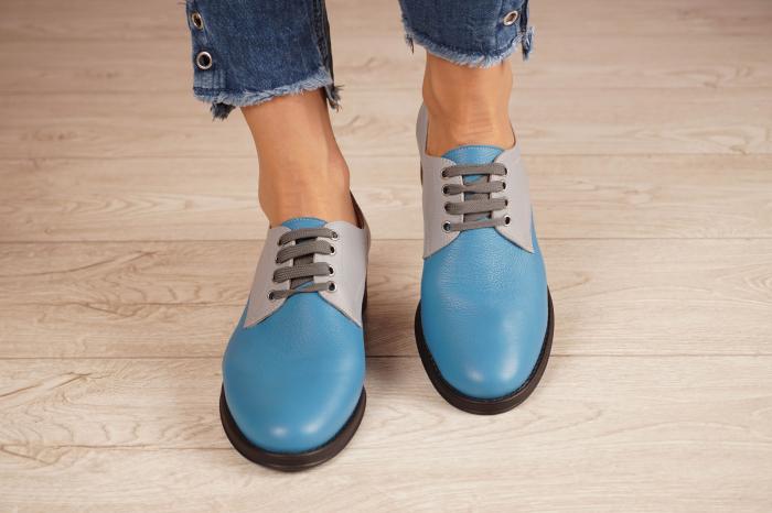 Pantofi dama din piele naturala MSPD53017-11-20 3