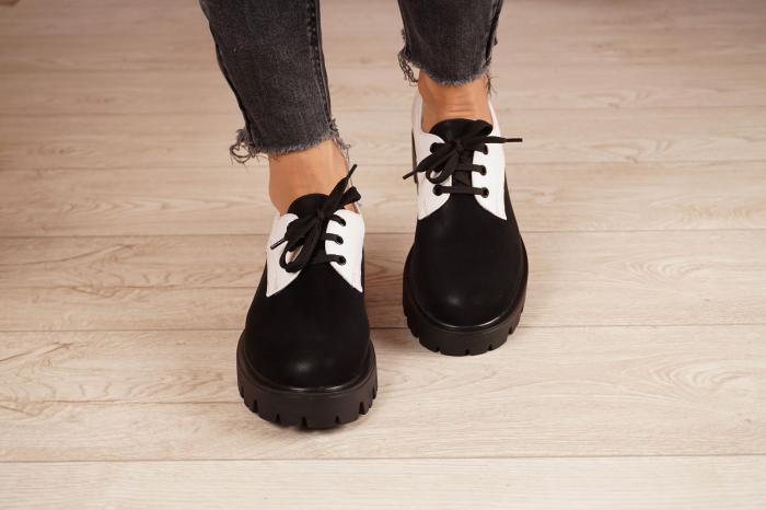 Pantofi dama din piele naturala MSPD56320-21 [3]