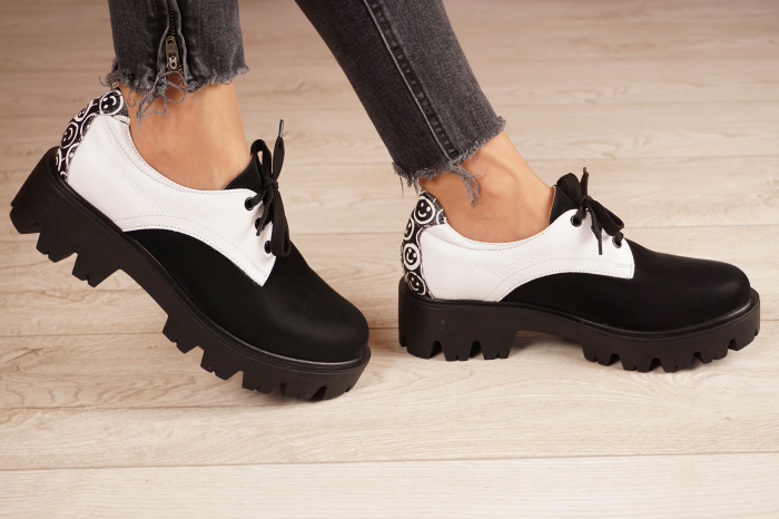 Pantofi dama din piele naturala MSPD56320-21 [2]