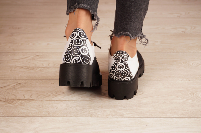 Pantofi dama din piele naturala MSPD56320-21 [4]