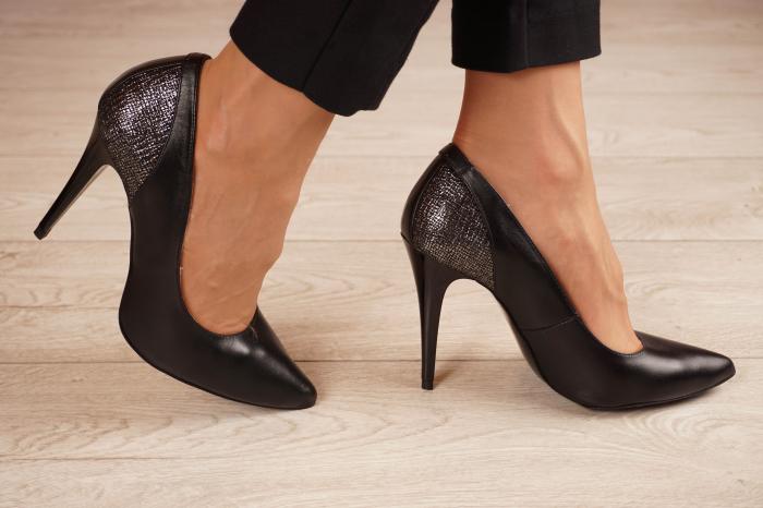 Pantofi dama stiletto din piele naturala lacuita MSPD50018-1-20 [1]