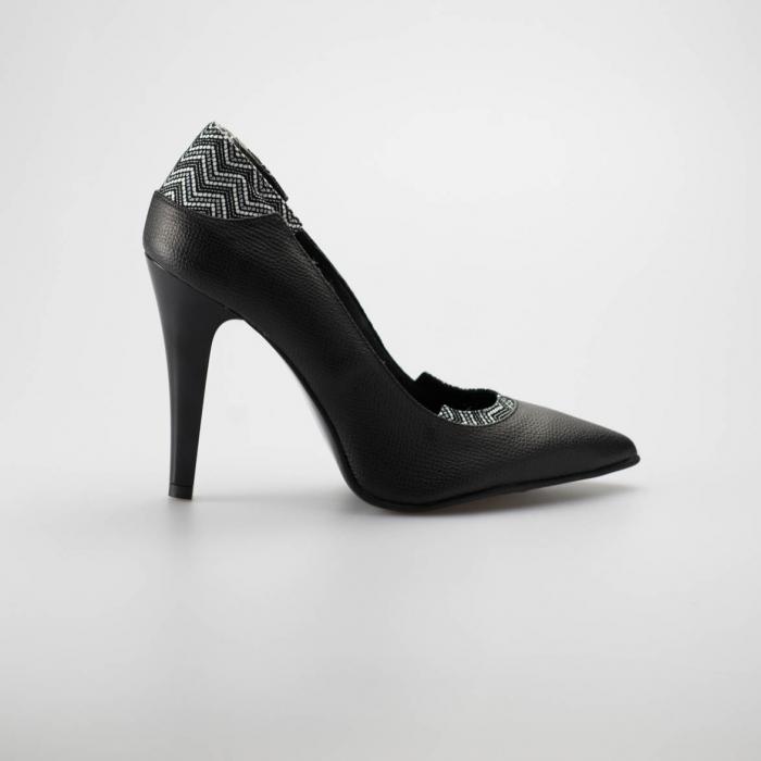 Pantofi dama din piele naturala MSPD51119-19 [0]