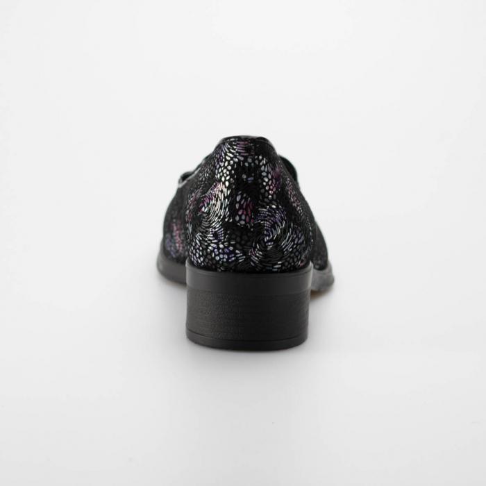 Pantofi dama din piele naturala cu imprimeu MSPD50918-19 3