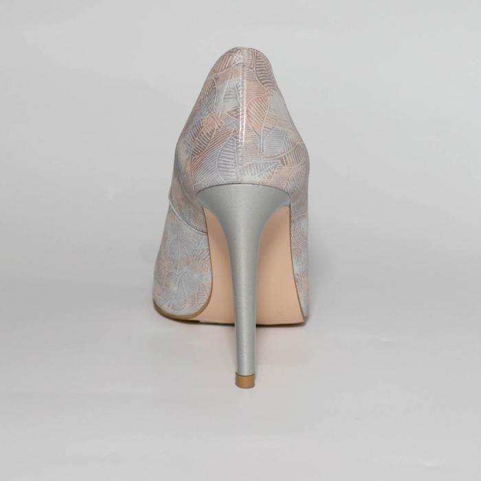 Pantofi dama din piele naturala cu imprimeu MSPD190-22-19 [3]
