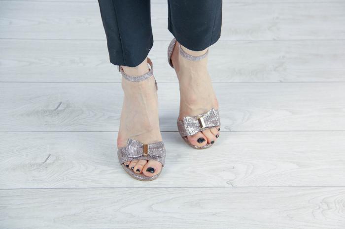 Sandale dama din piele naturala cu imprimeu MSSD02217-1-20 [2]