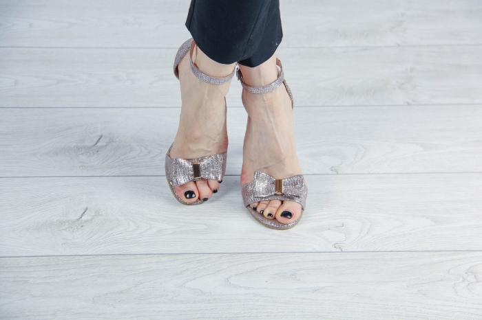 Sandale dama din piele naturala cu imprimeu MSSD02217-1-20 [1]
