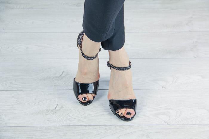 Sandale dama din piele naturala lacuita MSSD2119-20 [1]
