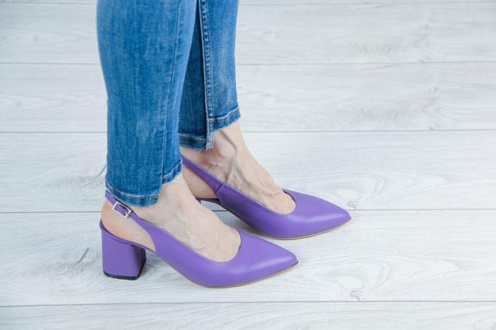 Sandale din piele naturala mov MSSD2020-1-20 [0]