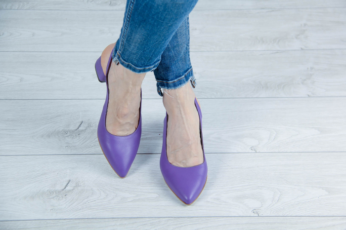 Sandale din piele naturala mov MSSD2020-1-20 [1]
