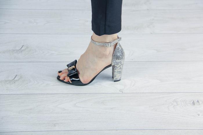 Sandale dama din piele naturala MSSD02217-2-20 [0]