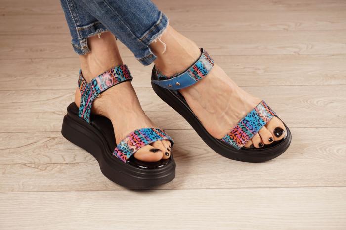 Sandale din piele naturala cu imprimeu MSSD0521-21 [1]