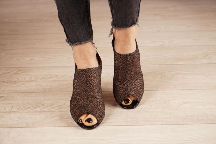 Sandale din piele naturala cu imprimeu MSSD1020-20 [3]