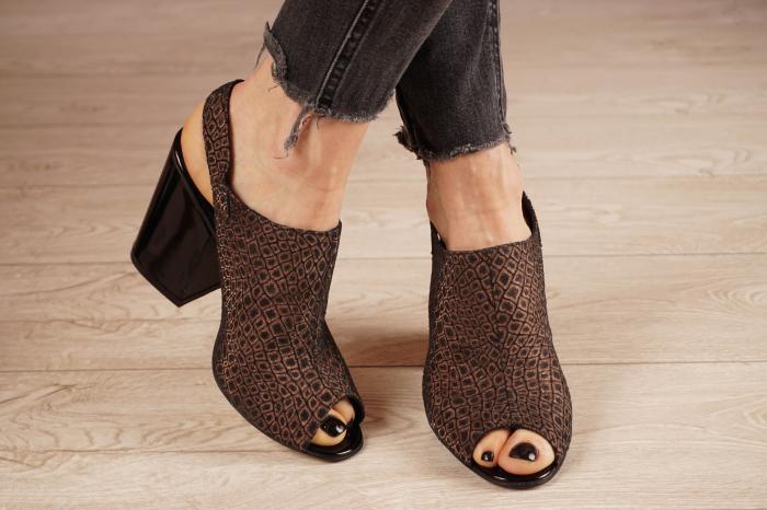 Sandale din piele naturala cu imprimeu MSSD1020-20 [1]