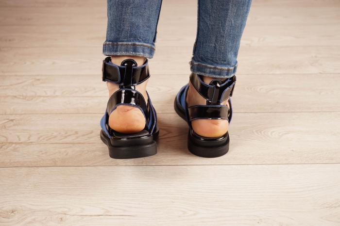 Sandale din piele naturala cu imprimeu  MSSD1221-21 [4]