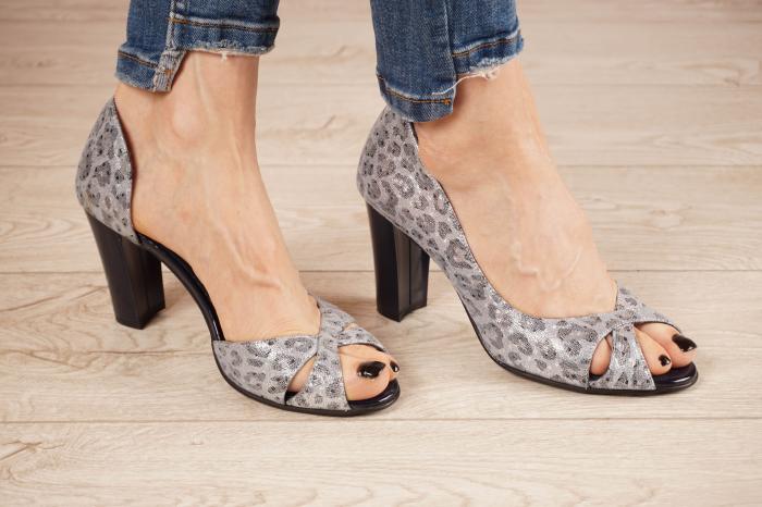 Sandale din piele naturala cu imprimeu MSSD2519-21 [0]