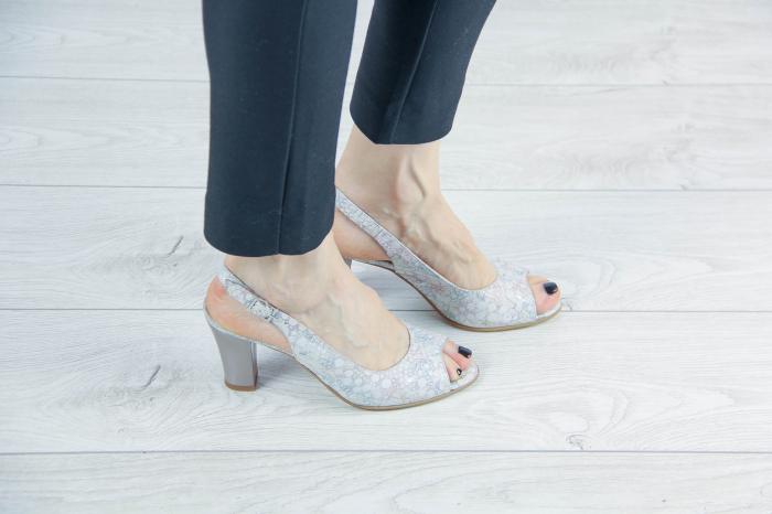 Sandale din piele naturala cu imprimeu MSSD3411-10-20 [0]