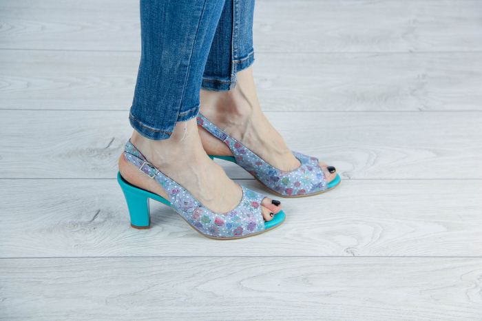 Sandale din piele naturala cu imprimeu MSSD3411-11-20 [0]
