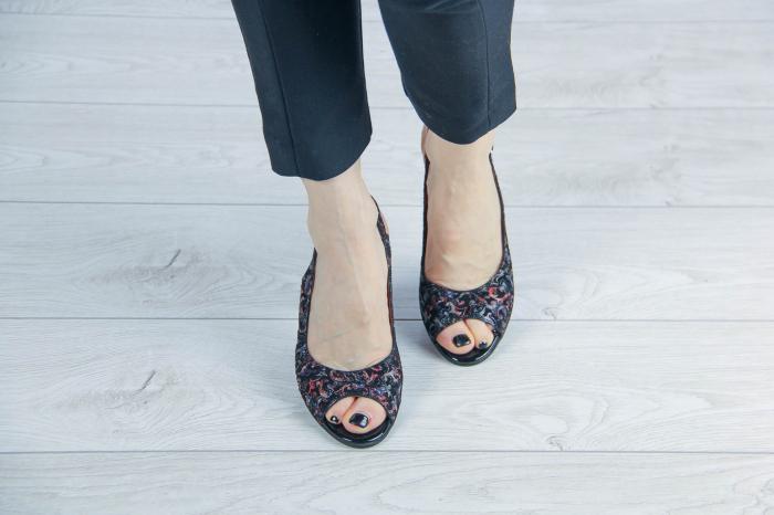 Sandale din piele naturala cu imprimeu MSSD3411-14-20 [2]