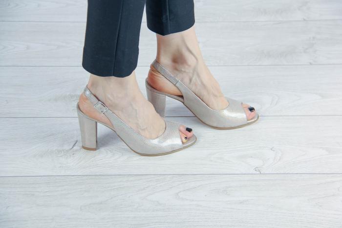 Sandale din piele naturala cu imprimeu MSSD3411-2-20 [0]