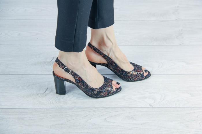 Sandale din piele naturala cu imprimeu MSSD3411-3-20 [0]