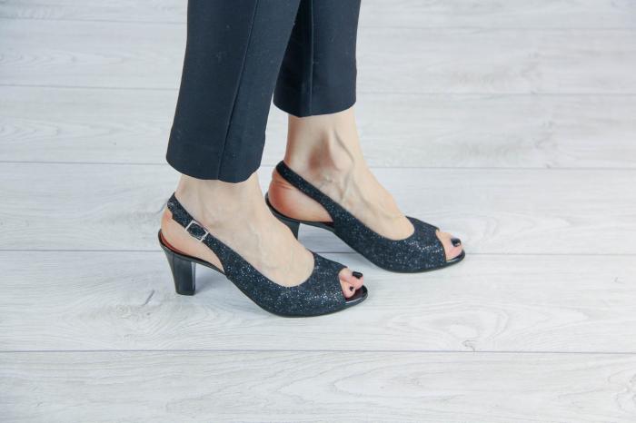 Sandale din piele naturala cu imprimeu MSSD3411-8-20 [0]