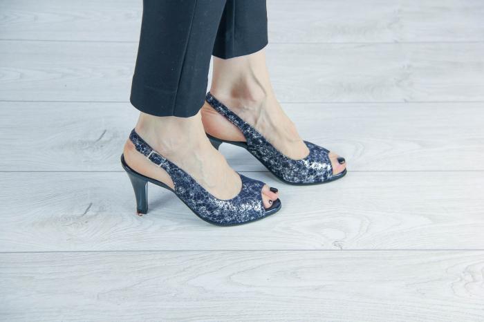 Sandale din piele naturala cu imprimeu MSSD3411-9-20 [0]
