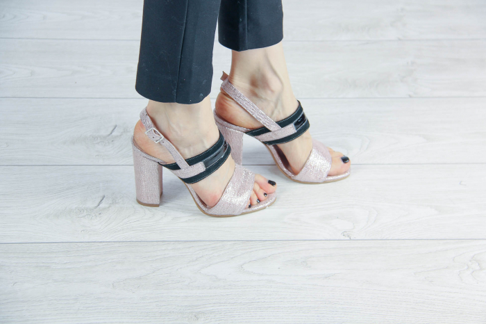 Sandale din piele naturala cu imprimeu MSSD4019-20 [0]