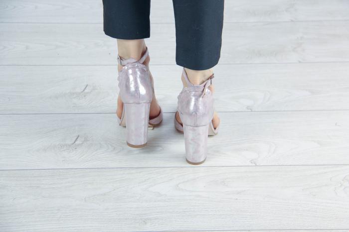 Sandale din piele naturala cu imprimeu MSSD5419-20 [3]