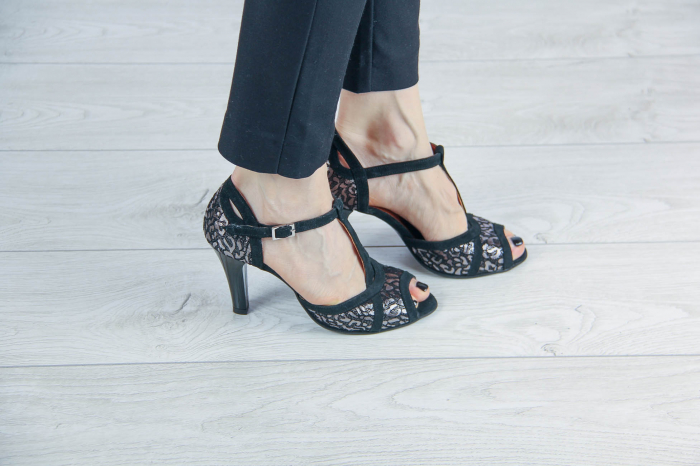 Sandale din piele naturala cu imprimeu MSSD5719-20 [0]