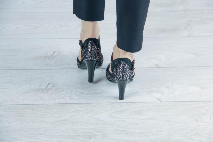 Sandale din piele naturala cu imprimeu MSSD5719-20 [3]