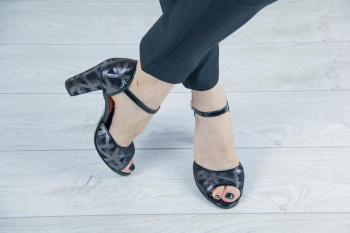 Sandale din piele naturala cu imprimeu MSSD6018-20 [2]