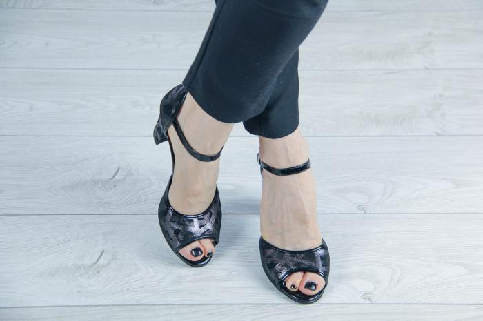 Sandale din piele naturala cu imprimeu MSSD6018-20 [1]
