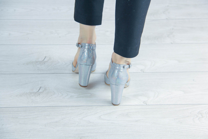 Sandale din piele naturala cu imprimeu MSSD6320-20 [3]
