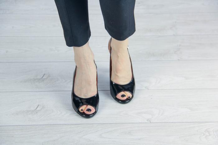 Sandale din piele naturala lacuita MSSD3411-12-20 [2]