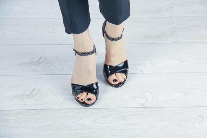 Sandale din piele naturala lacuita MSSD5219-20 [2]