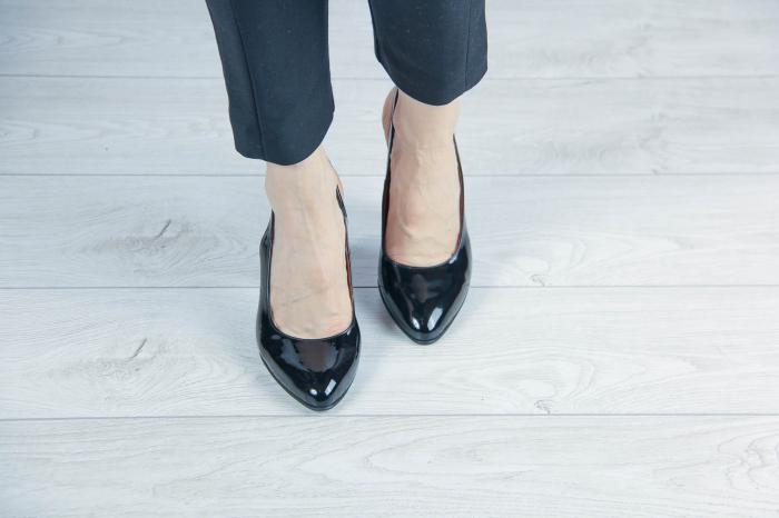 Sandale din piele naturala lacuita MSSD52417-1-20 [2]