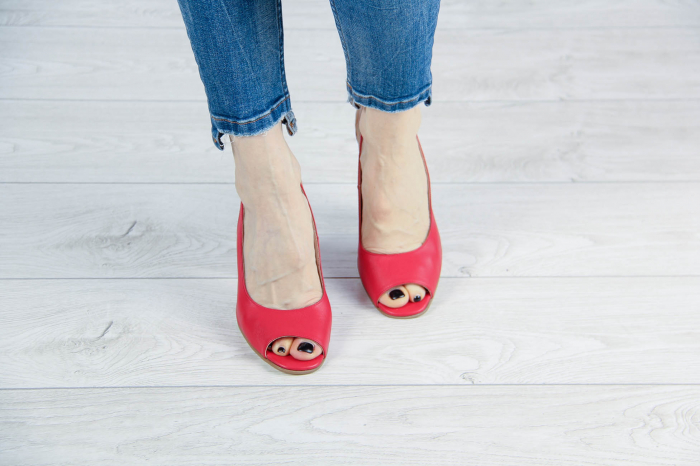Sandale din piele naturala rosie MSSD52617-1-20 [2]