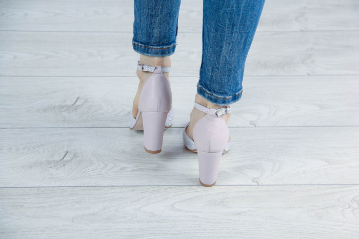 Sandale din piele naturala roz pudra MSSD5920-20 [3]
