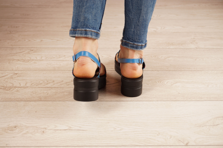 Sandale din piele naturala cu imprimeu MSSD7020-21 [4]