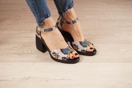 Sandale din piele naturala cu imprimeu MSSD2821-21 [1]